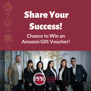 Share Your Success Prize Draw